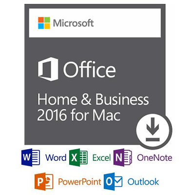 Office 2016 Home and Business for Mac - Digital Delivery only