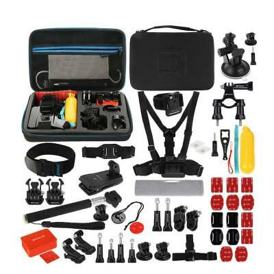 53 in 1 Accessories Combo Kits with EVA Case for GoPro HERO7/6/5/ 4/3 + / 3/2/1