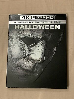 Halloween (4K Ultra Hd+Blu-Ray)W/slipcover New Factory Sealed