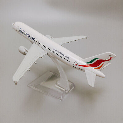 16cm alloy plane model air Srilankan Airlines A320 Airbus 320 Airplane Aircraft