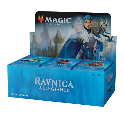 Ravnica Allegiance Booster Box Display OVP Sealed RU Russisch Preorder/Vorverk.