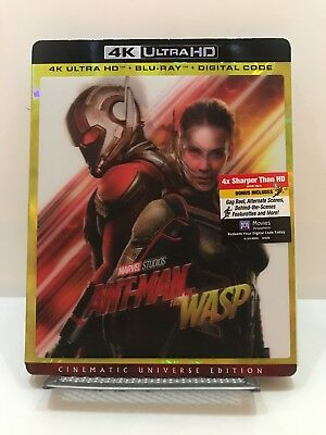 Ant-Man and the Wasp (4k Ultra HD/Blu ray) (No digital)