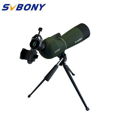 SVBONY SV28 20-60x60mm IP65 Waterproof Zoom Spotting Scopes+Tripod+Phone Adapter