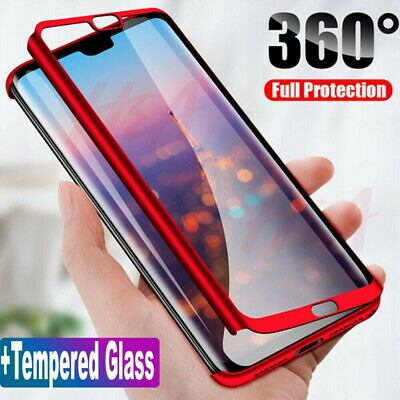 360° Full Protective Hard Slim Case Cover For Xiaomi Redmi Mi 8 Lite SE A2 A1 S2
