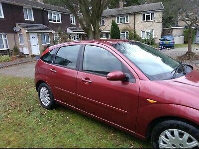 Ford Focus Ghia TDCi Diesel 2003 MOT til September