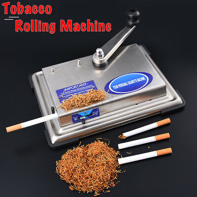 DIY 70MM Cigarette Injector Rolling Machine Tobacco tubes Maker Roller Stainless