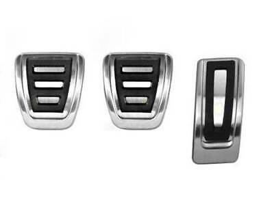 VW Touran II 2015 - Circuit Pedalset Pedal Caps Stainless Steel R-Line Looks