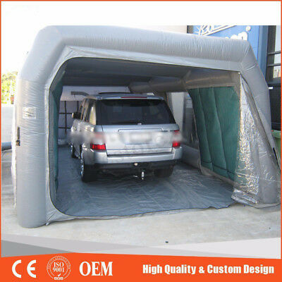 Inflatable Car Paint Spray Booth Tent For Painting Car Workstation 26x13x10 Ft.