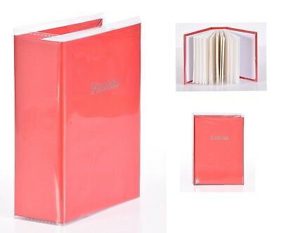 6'' x 4'' Slipin Photo Album Holds 120 Photos Photography Storage - RED