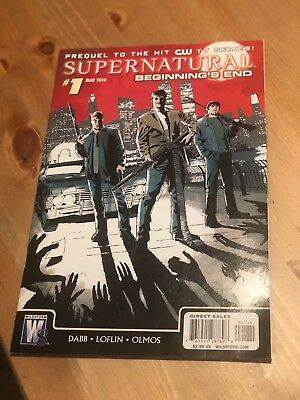 """Supernatural: """"Beginning's End"""" prequel to the CW series - graphic novel"""
