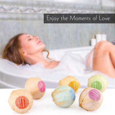 10g-100g Bath Salt Bombs Balls Whitening Moisture Essential Oil Scrub Natural