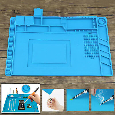 Magnetic Heat Insulation Repair Pad Soldering Silicone Anti Static Desk Mat