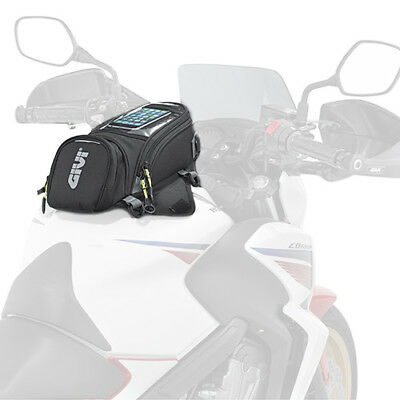Givi EA106B Easy Bag Motorcycle Magnetic Tank bag With Clear Pocket - 6 Litres