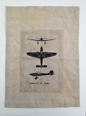 WW2 RAF Enemy Aircraft Recognition Banner Junkers Stuka - Battle of Britain 1940