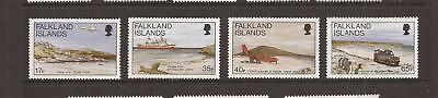 Falkland Islands 1994 Beaches Mnh Set Of Stamps