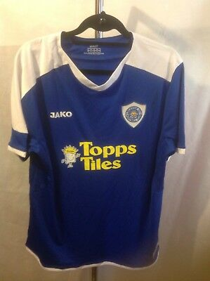 Leicester City Home Shirt 2007/09 Size L