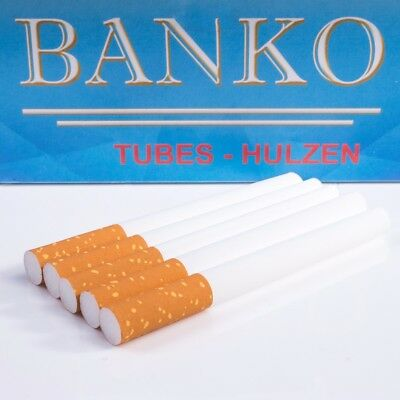 500x MAKE YOUR OWN CIGARETTE King Sized Empty Filter Tubes Smoking Ciggie/Cig