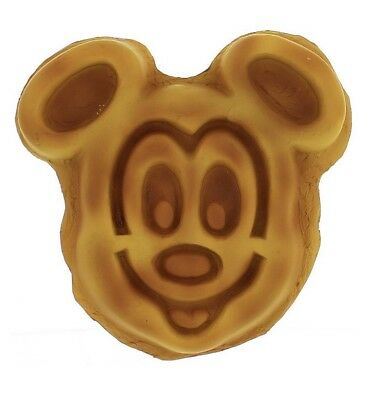 Mickey Mouse Waffle Food Magnet Disney World Theme Parks NEW