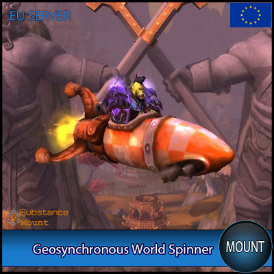 Geosynchronous World Spinner WoW Mount | EU Server | World Of Warcraft