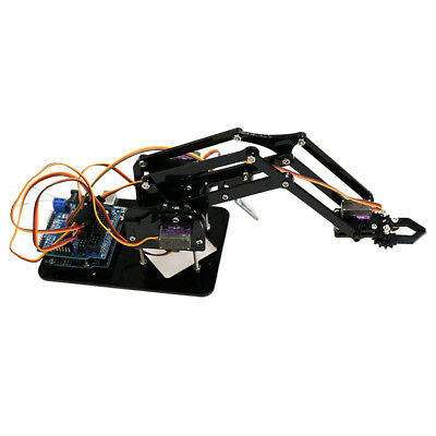 Bluetooth Control S4 4DOF Mechanical Robot Arm Claw with Servos for Robot