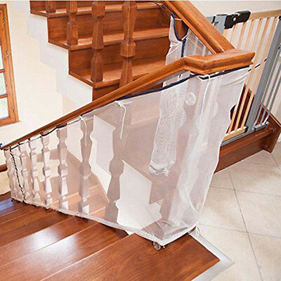 Stair Safety Net Small Gridding Protec Installation Balcony Baby Secure Gate VA
