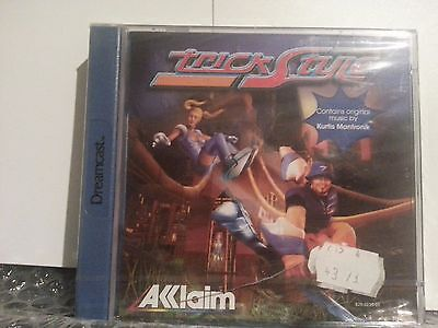 TRICK STYLE Sega Dreamcast game BRAND NEW PAL