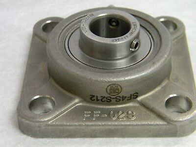 Browning Flange-Mount Ball Bearing Unit SF4S-S212