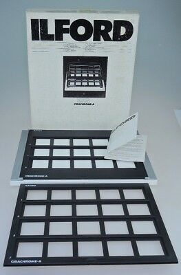 Ilford Contact Printing Frame for Mounted Transparencies Boxed with Instructions