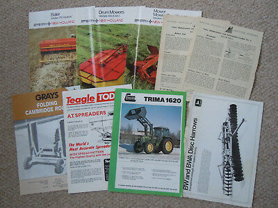 @Vintage Quantity of Agricutural  Brochures@