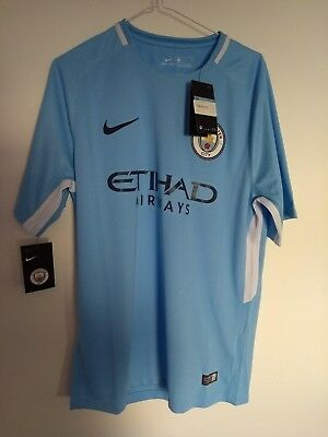 Manchester City Home Shirt - BRAND NEW WITH TAGS - Size Medium