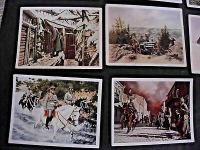 36 Imperial German Wwi Cigarette Tobacco Cards Photos Weltkrieg 1937 No Reserve!