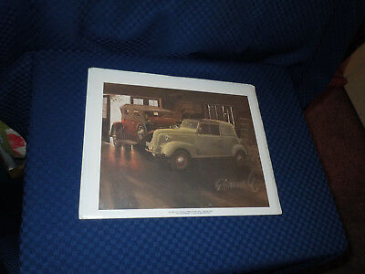 "Crosley and Duesenberg Car Print Picture for Framing 8"" by 10"""