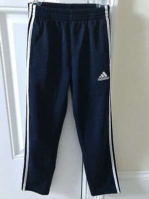 Adidas slim fit joggers track pants unisex kids size 7x long tapered athletic