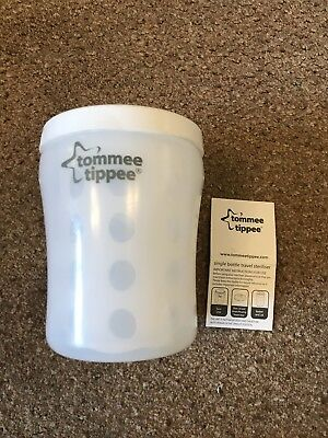 Tommee Tippee Single Baby Bottle Travel Steriliser