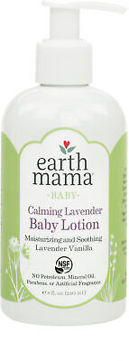 Calming Lavender Baby Lotion, Earth Mama Angel Baby, 8 oz 1 pack