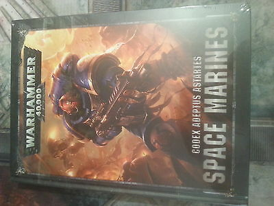 Warhammer 40K Space Marines Codex Adeptus Astartes 8Th Edition - New And Sealed