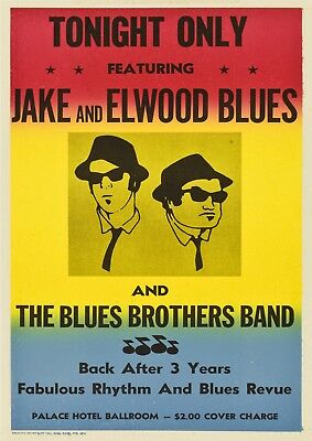 Art print POSTER /Canvas Blues Brothers Movie Photos