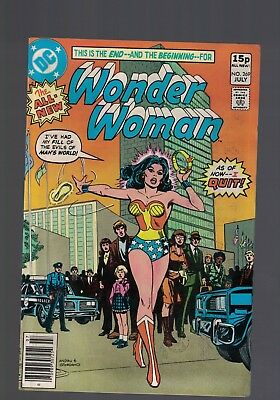 DC Comic  WONDER WOMAN  no 269 July 1980  15p price variant