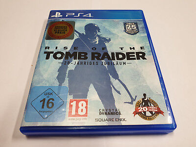 Rise Of The Tomb Raider  für Ps4