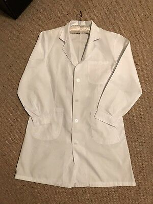 White Lab Coat Hygiene Food Industry warehouse Laboratory Doctors Medical coat