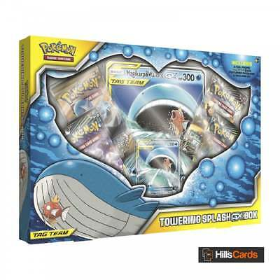 Pokemon TCG Towering Splash-GX Collection Box Magikarp + Wailord - Trading Cards