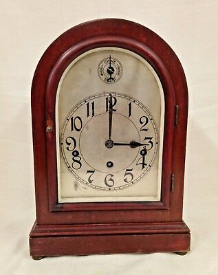 Antique Duverdrey & Bloquel Chiming Mantel/Carriage Clock - Working & Chiming