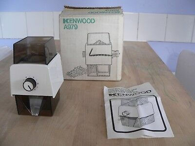 KENWOOD CHEF - Coffee Grinder A979 - (Fits A901 & all KM models). Ex condition.