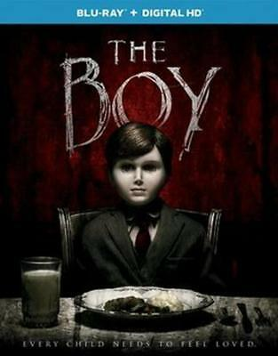 BRAND NEW The Boy BLU-RAY + DIGITAL HD SEALED W/ SLIP COVER FREE SHIPPING