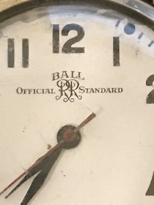 Vintage Official Ball Railroad Standard 10k GF Watch