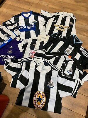 Newcastle United Shirts Training Tops Bundle Size Large/med  Northern Rock