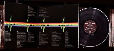 Pink Floyd ♫ The Dark Side of the Moon ♫ Rare 1973 Harvest Records Vinyl LP 🔥