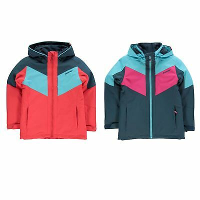 Nevica Prisca Thermal Top Junior Girls Snow Coat Skiing Outerwear