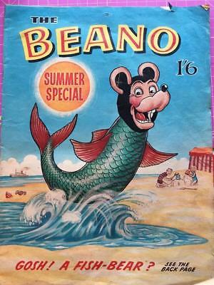 Beano Summer Special Comic Dc Thompson 1965 Puzzles Untouched Very Good Copy