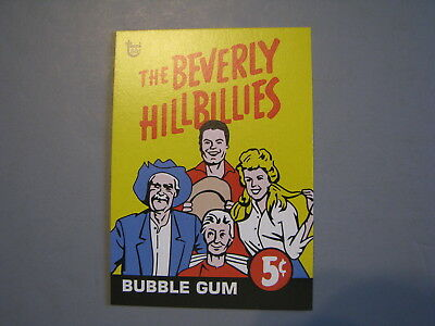 2018 Topps 80Th Anniversary Wrapper Art Card 1963 Beverly Hillbillies Tv Show